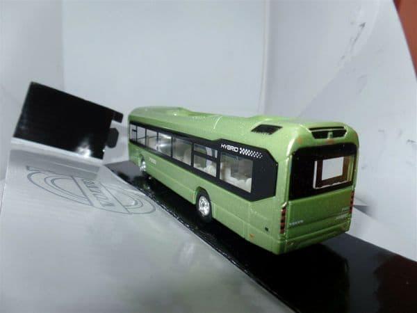 Motorart 300008 1:87 HO Scale Volvo VOLVO 7900 Hybrid Bus Light Metallic Green